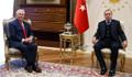 Erdoğan, Tillerson'u kabul etti