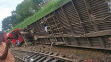 Tren raydan çıktı: 55 ölü, 600'den fazla yaralı