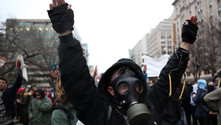 Trump karşıtı gösterilerde 224 kişi gözaltına alındı
