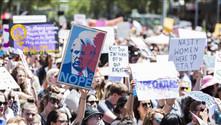 Avustralya'da Trump karşıtı gösteriler düzenlendi