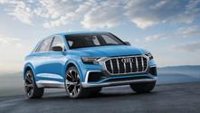 Coupe tasarımında büyük SUV: Audi Q8 Concept