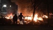 İsviçre'de polis göstericilere ateş açtı