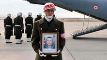 İzmir'de şehit olan askerin cenazesi memleketinde