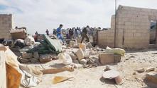 Suriye'de sığınmacı kampına hava saldırısı