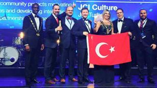 JCI, Türk bayrağını dalgalandırdı
