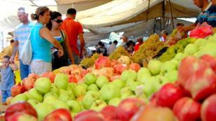 Başkentte gıda enflasyonu arttı