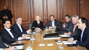 İsviçre'deki Kıbrıs müzakerelerinin ikinci turu başladı