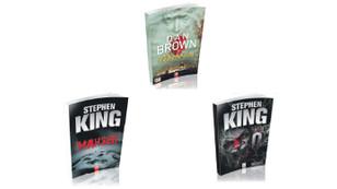 Dan Brown ve Stephen King'e farklı biçim ve kalitede yeni baskıla