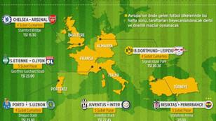 Avrupa futbolunda zorlu hafta sonu