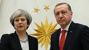 Erdoğan, May'e taziyelerini iletti