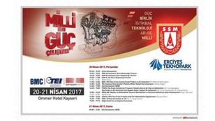 Milli Güç Çalıştayı Kayseri'de düzenlenecek