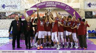 FIBA Kadınlar Avrupa Kupası Yakın Doğu Üniversitesi'nin