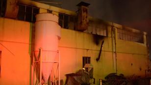Eskişehir'de fabrika yangını