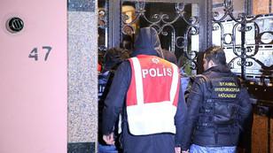 İstanbul'da eş zamanlı FETÖ/PDY operasyonu