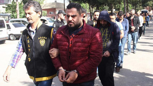 Bankalardan 9 milyon lira çeken 20 zanlı tutuklandı