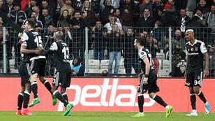 Beşiktaş Vodafone Arena'da coşuyor