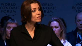 Ünlü Türk yazar da Davos'taydı