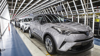 Otomobil ihracatında en iyi performans Toyota'dan