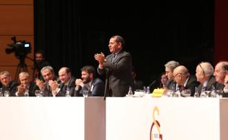 Galatasaray'ın bütçesi kabul edildi