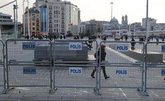 Taksim Meydanı ve çevresinde sıkı güvenlik önlemleri alındı