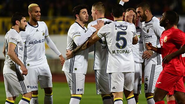 Fenerbahçe'den farklı prova