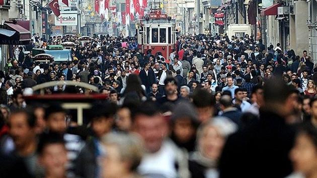 Türkiye'de her 10 kişiden biri İstanbul'da