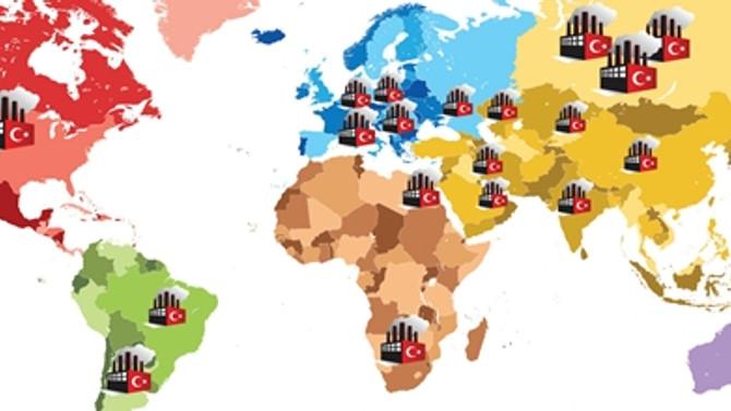 Yurtdışındaki Türk sermayeli fabrika sayısı 300'e dayandı