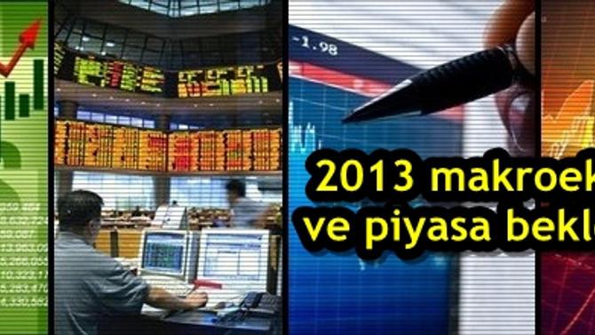2013 makroekonomi ve piyasa beklentileri