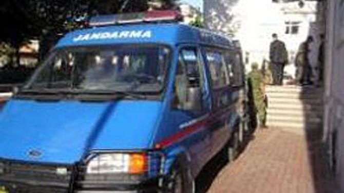Hakkari'de jandarma karakoluna taciz ateşi açıldı
