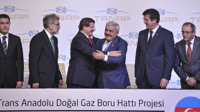 TANAP'ın yüzde 80'i, 6 Türk firmasına emanet