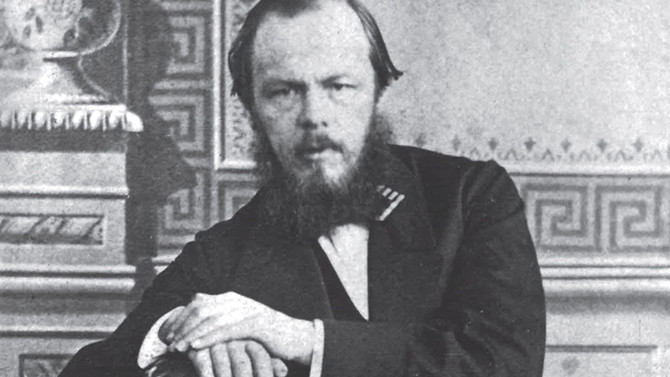 Dostoyevski üzerine bin sayfa!