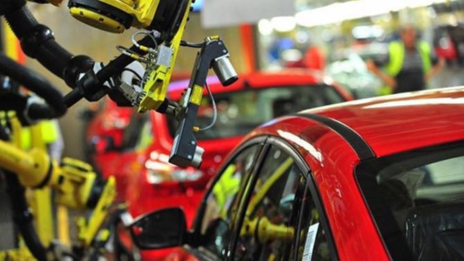 Otomotiv üretimi 1,5 milyona dayandı