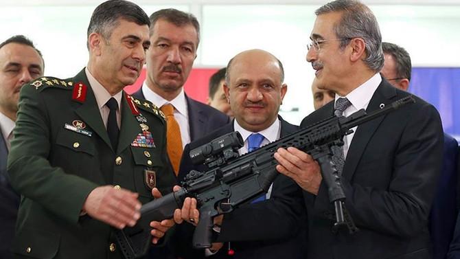 'Milli tüfek' Mehmetçiğe teslim edildi