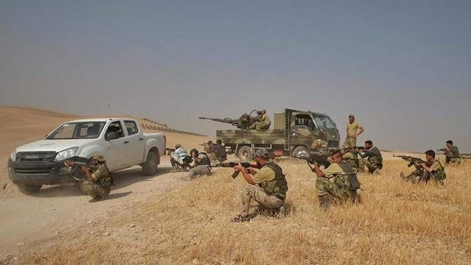 El Bab'da 1 şehit, 1 yaralı