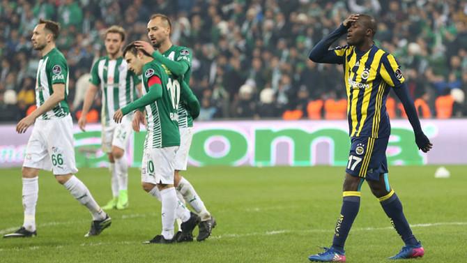 Fenerbahçe avantajını kullanamadı