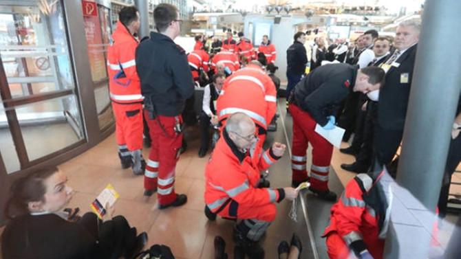 Hamburg'da havaalanı tahliye edildi