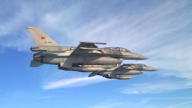 Türk jetleri El Bab'da DEAŞ tünellerini bombaladı