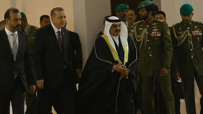Cumhurbaşkanı Erdoğan Bahreyn'de