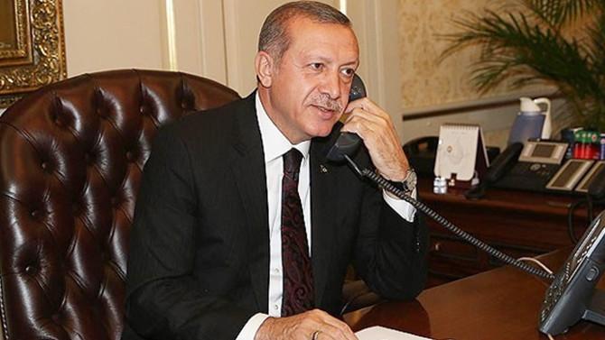 Cumhurbaşkanı Erdoğan'dan Steinmeier'e tebrik