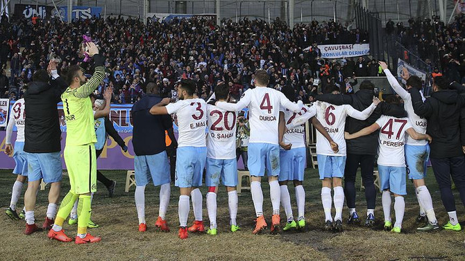 Trabzonspor rekora koşuyor