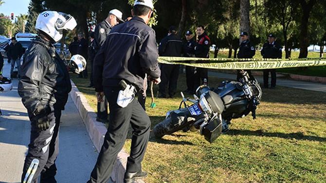 Törene giden polis kazada şehit oldu