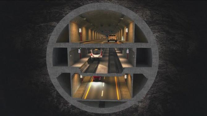 3 Katlı Büyük İstanbul Tüneli Projesi'ne 4 teklif