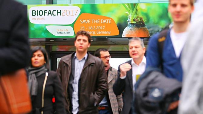 Organik ürün fuarı 'Biofach 2017' başladı