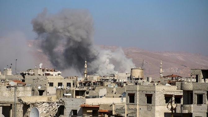 İdlib'de yerleşim yerine füze düştü