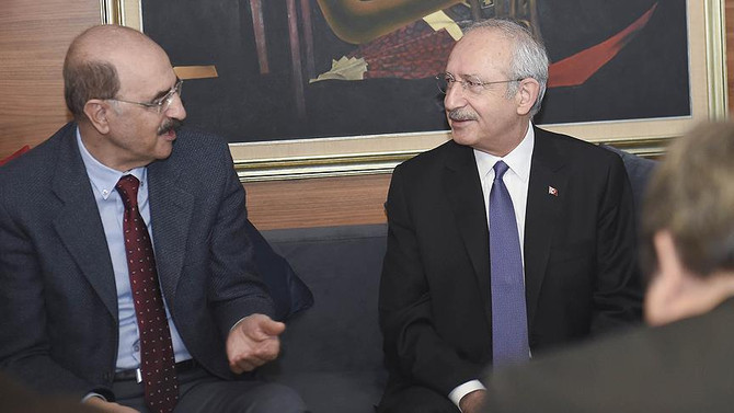 Kılıçdaroğlu, Hüsnü Mahalli ile görüştü
