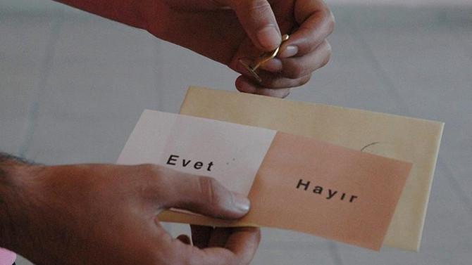 Referandum süreci bugün başladı