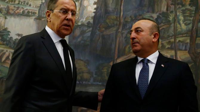 Lavrov, Çavuşoğlu ile görüştü