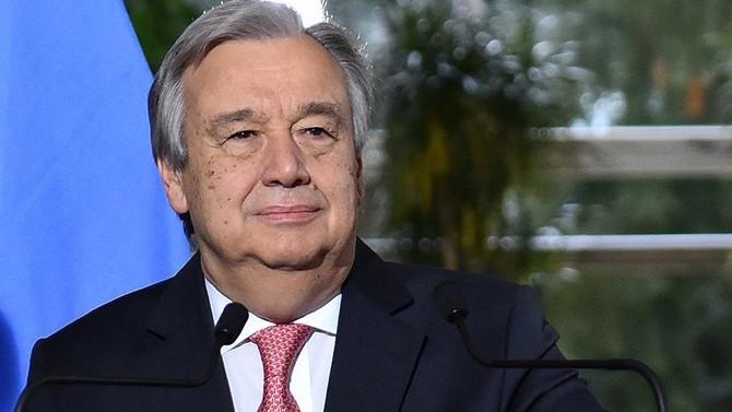 BM Genel Sekreteri Guterres Türkiye'ye geliyor