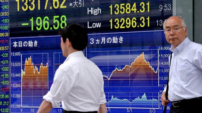 Asya borsalarıHindistan hariç geriledi
