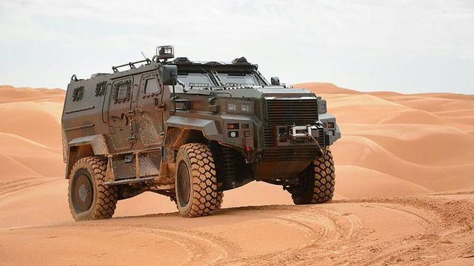 EJDER zırhlısı Afrika yolcusu